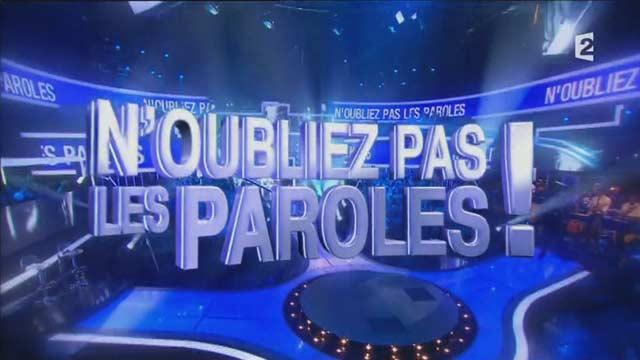 Jeu sur France2 présenté par Nagui
