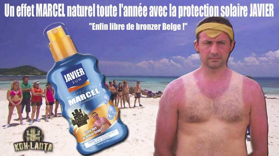 Le candidat Belge du dernier Koh Lanta et son bronzage 'Marcel'