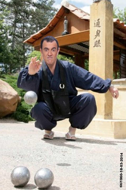 Thierry Beccaro maître des boules.