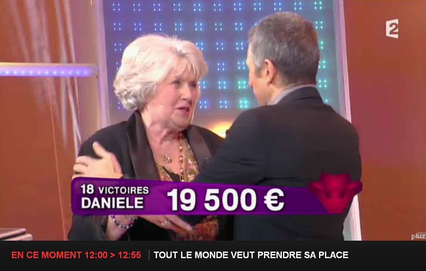 TLMVPSP Danièle part avec 19500€