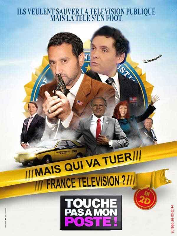 Cyril Hanouna et Touche pas à mon poste.