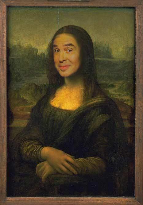 Jean Pierre Foucault au Louvre