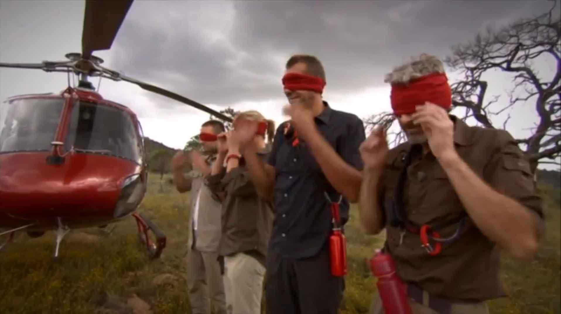 Au milieu de nulle part les équipes de 'DROPPED' découvrent où ils sont.
