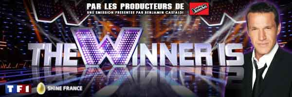 The winner is présenté par Benjamin Castaldi