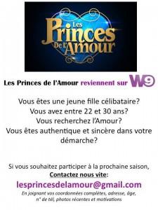 Les princes de l'amour Casting