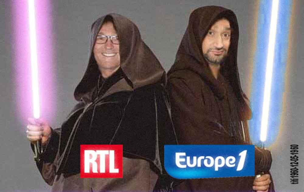 RTL VS EUROPE 1 dès la rentrée. RUQUIER VS HANOUNA