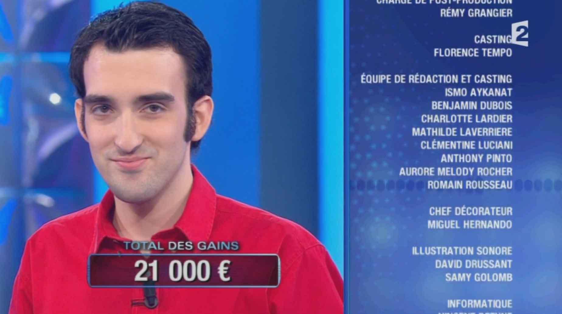 #Valentin 21 000 € en une soirée dans #Noplp