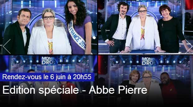 Money Drop Spéciale Fondation Abbé Pierre
