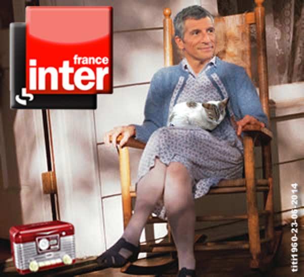 Nagui à la rentrée sur la grille de France Inter