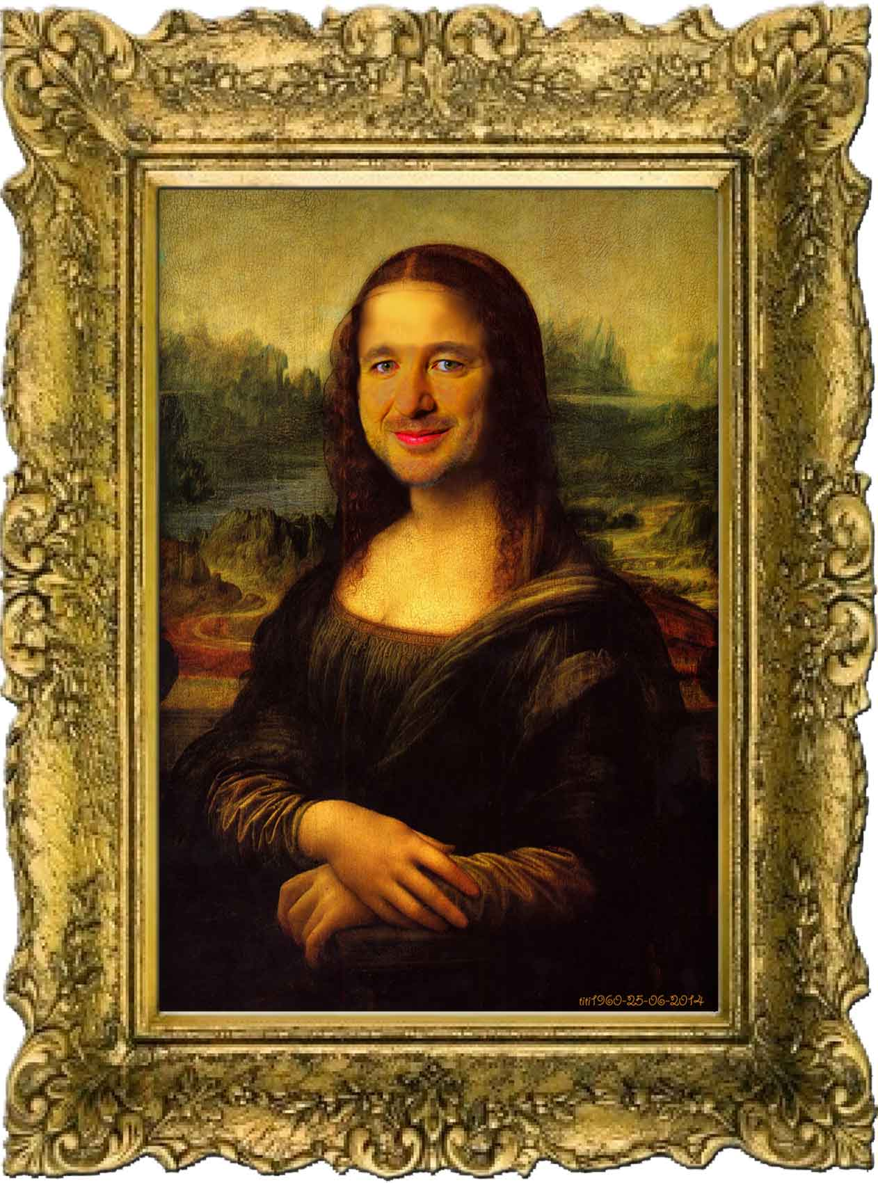 Bruno Guillon en Mona Lisa