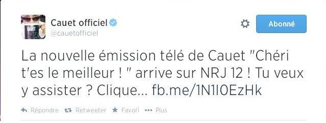 Tweet Cauet