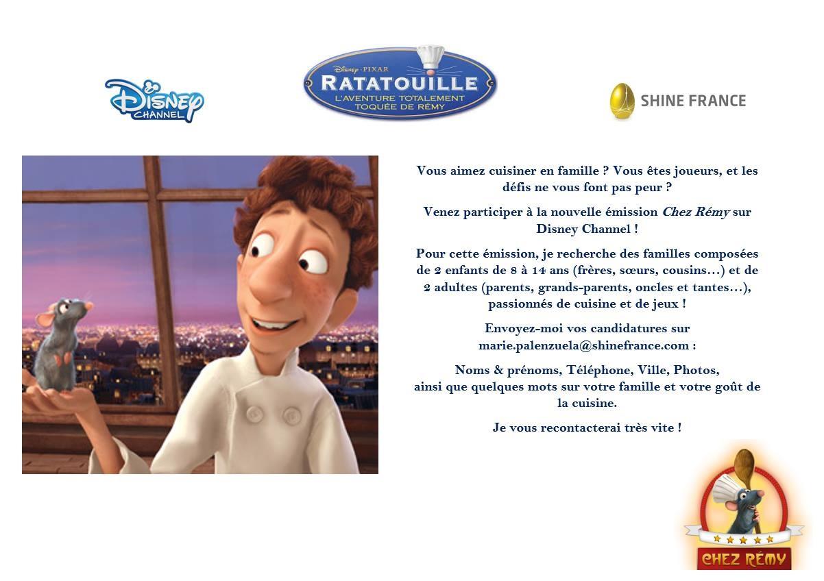 Disney Chez Rémy Ratatouille