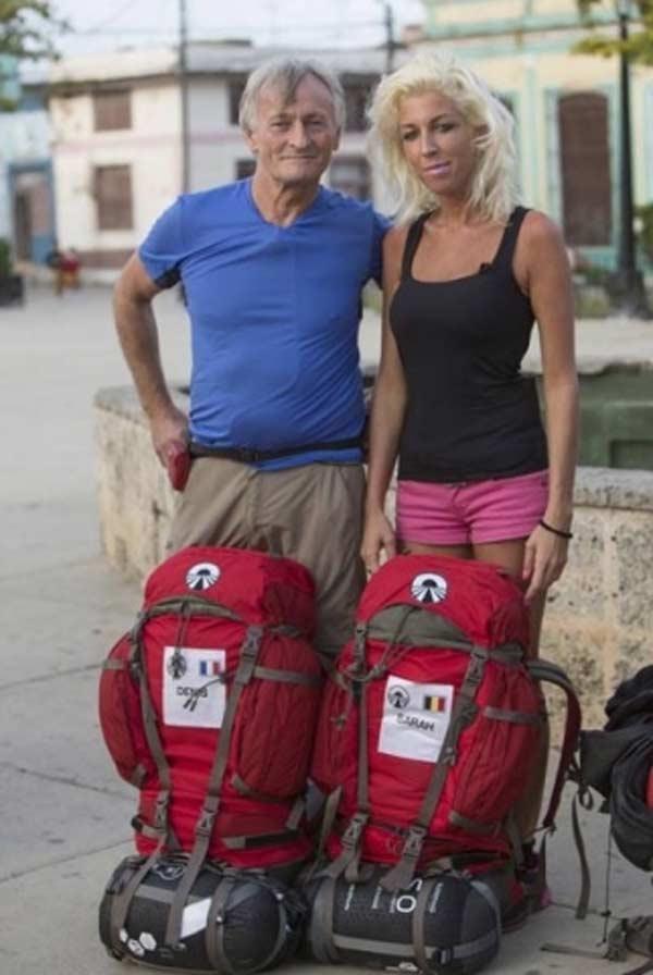 Sarah et Denis Binôme dans la saison 9 de Pékin Express