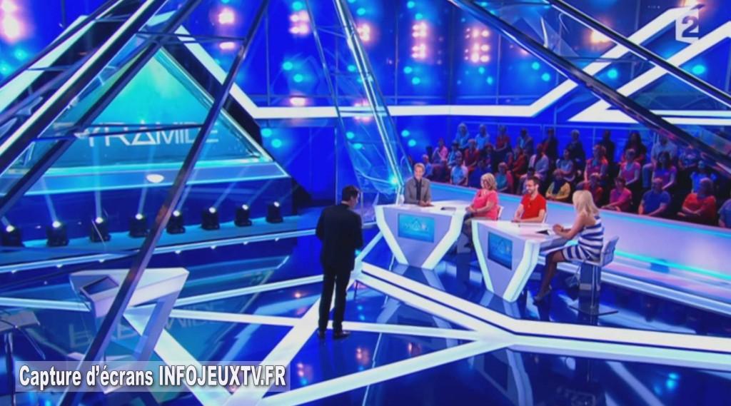 Pyramide sur France 2