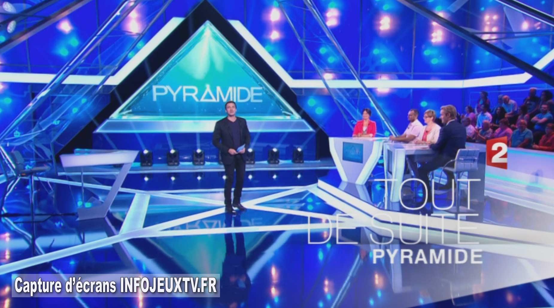 11 ans et 1 jour,après  le retour de Pyramide sur France 2