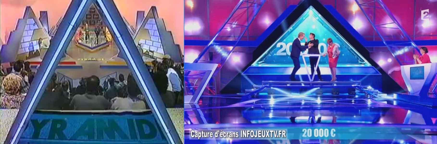 La pyramide qui se remplie d'eau est devenue virtuelle