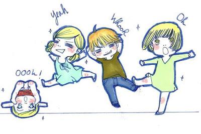 Les Enfants dansent...
