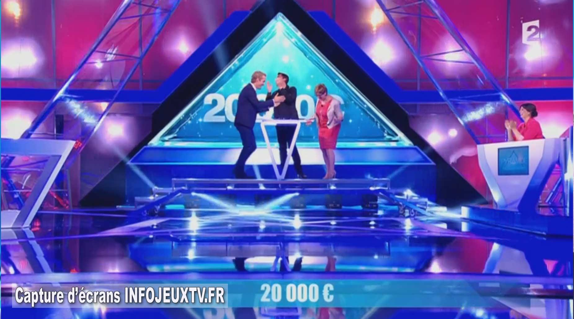 20 000 € gagnés lors de la 2éme émission