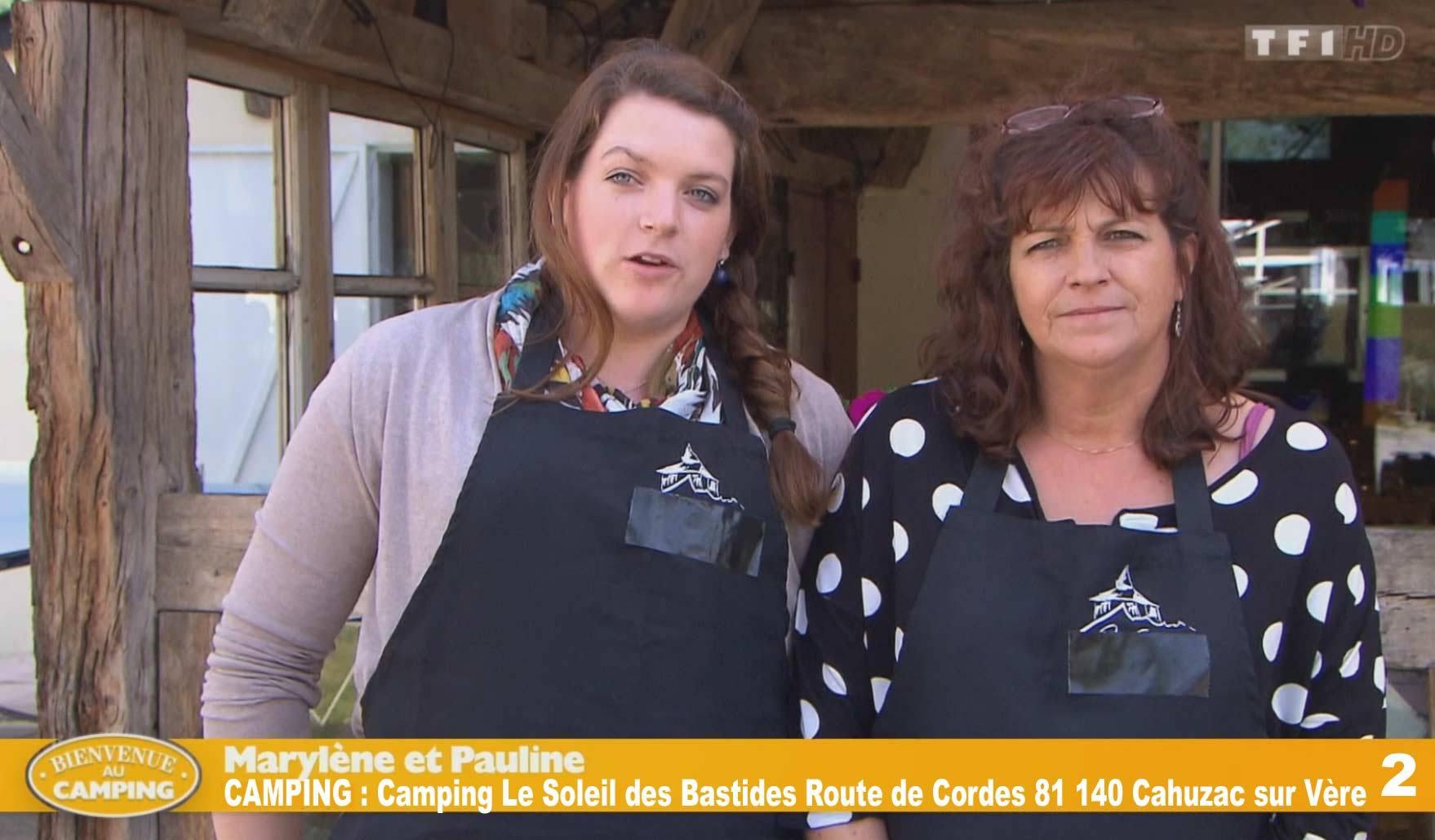 Camping de Marylène et Pauline