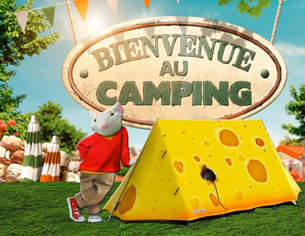 La petite souris à passé l'été au camping