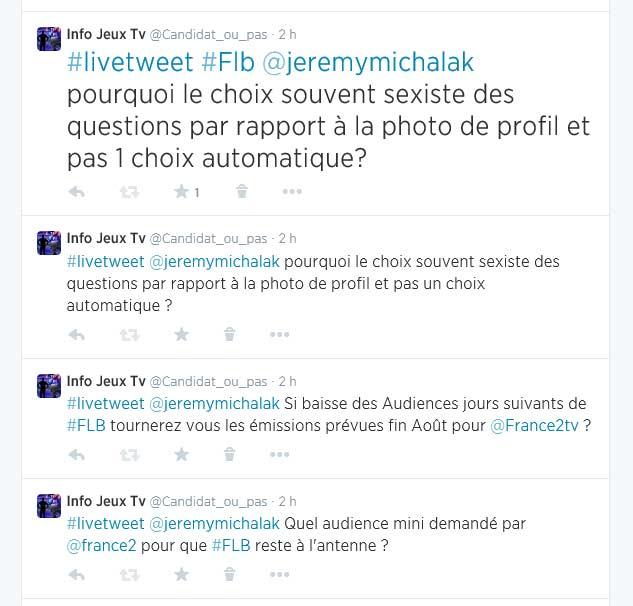 Live tweet Jérémy Michalak