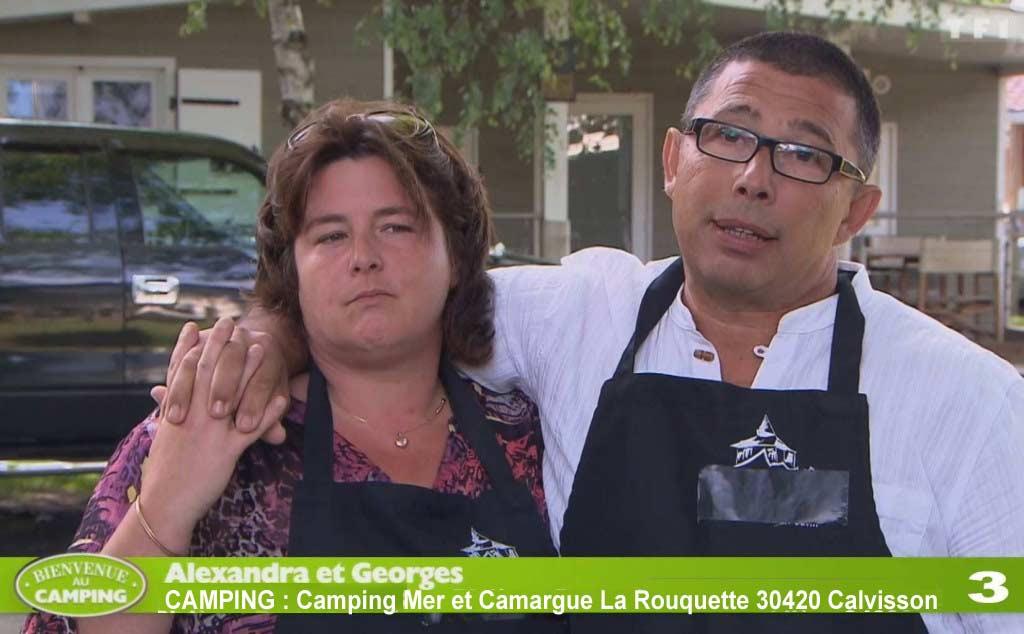 Camping d'Alexandra et Georges (Capture d'écran TF1)