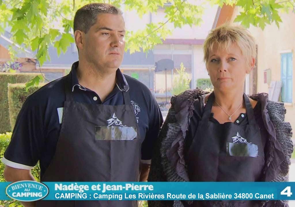Camping de Nadège et  Jean-Pierre (Capture d'écran TF1)