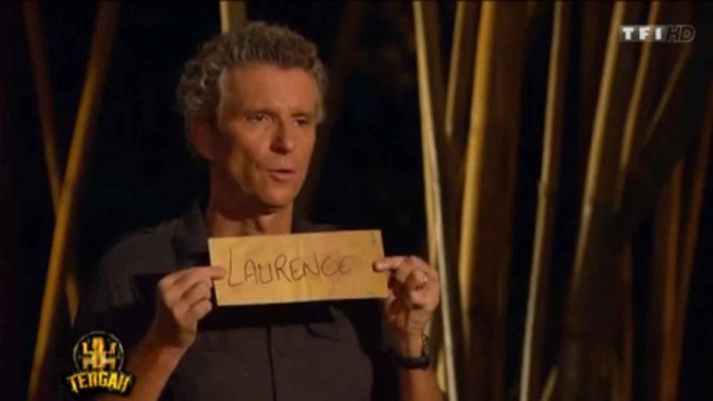 Laurence éliminé lors du 3éme épisode
