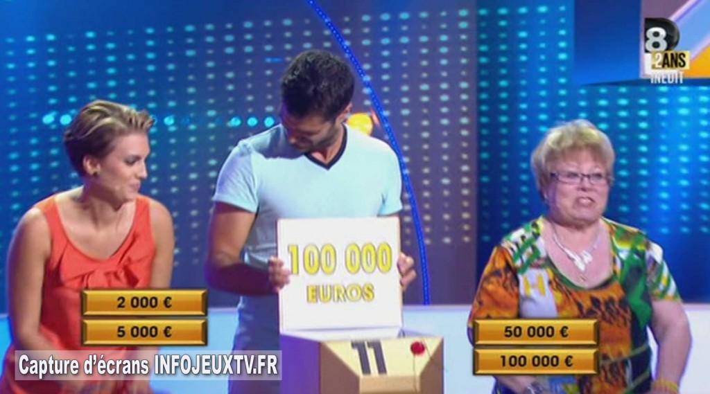 100 000 € perdus