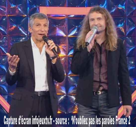 Nagui & Pascal maestro actuel de n'oubliez pas les paroles