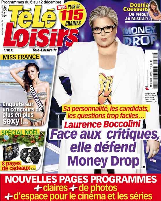 Téléloisir Laurence Boccolini défend Money Drop