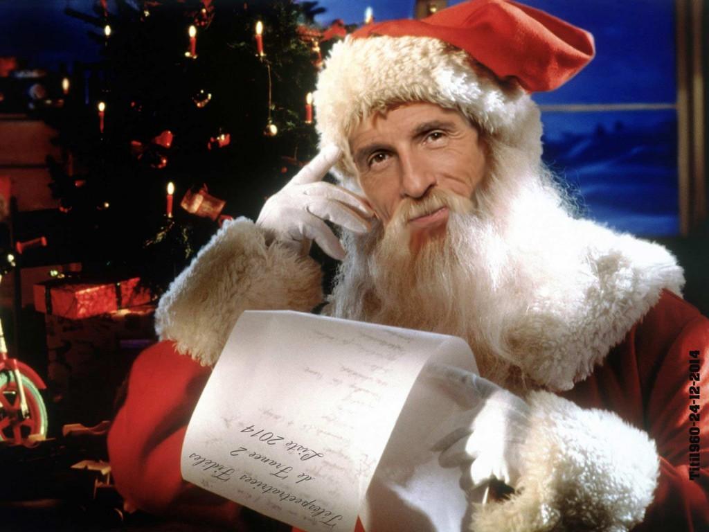 Nagui père Noël 2014