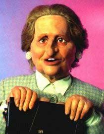 La Marionnette de Bernadette Chirac au guignol de C+