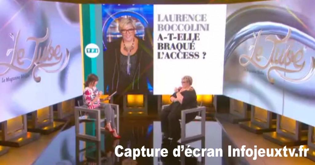 Laurence Boccolini dans 'Le Tube'