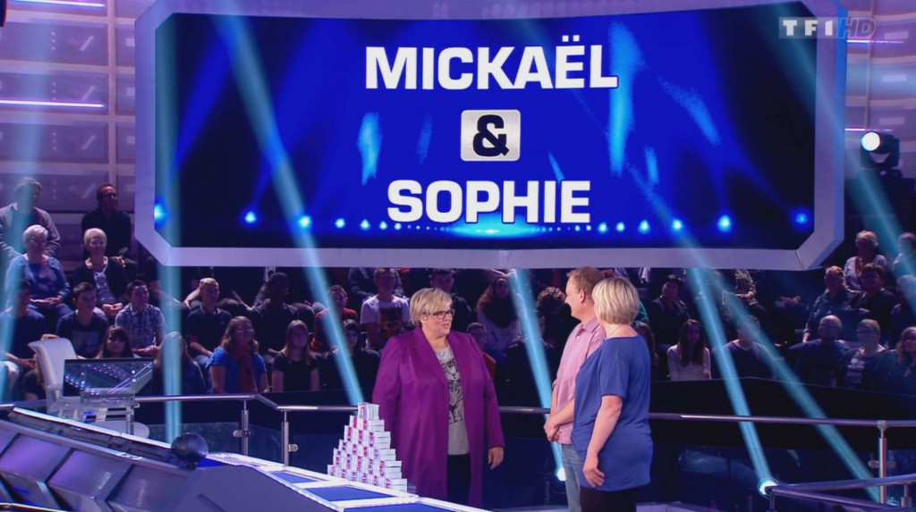 Mickael et Sophie candidats de Money Drop