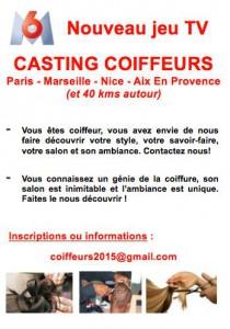 Casting coiffeurs M6