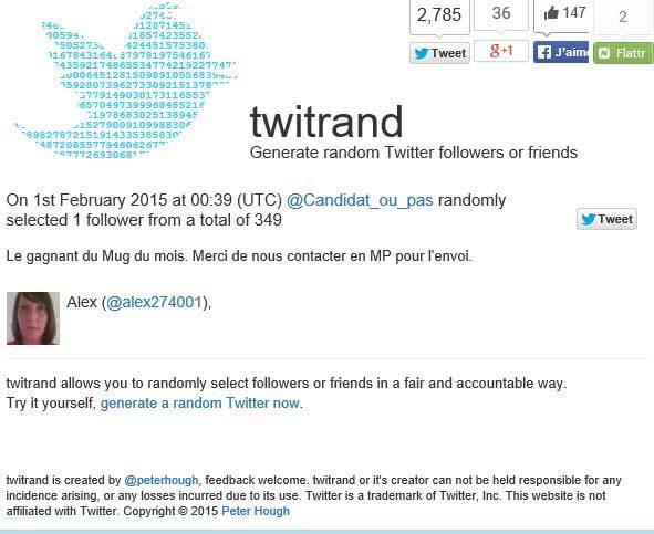 Gagnant twitter Janvier 2015