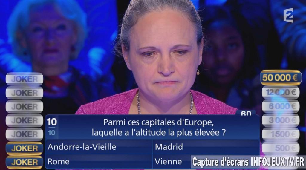 Martine Première Gagnante des 50 000€ de Joker