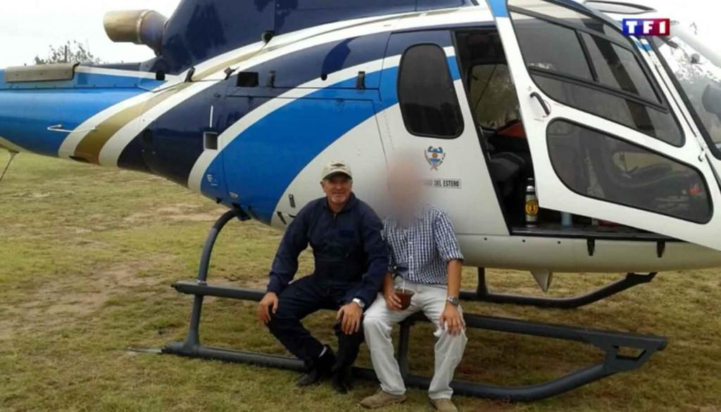 Un des pilotes qui a trouvé la mort lors du crash (Capture d'écran  TF1)