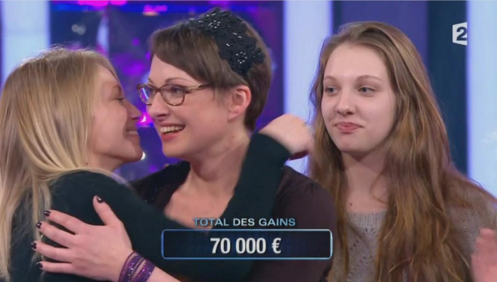 Nathalie quite le plateau de n'oubliez pas les paroles avec 70 000€ en poche