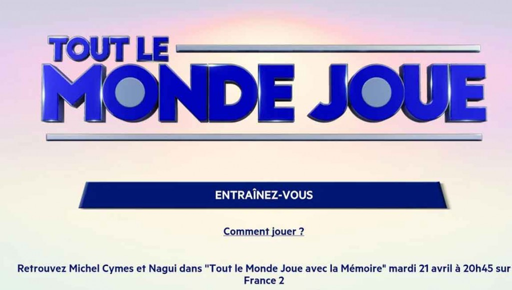 L'application 'Tout le monde Joue' maintenant sur Google Play