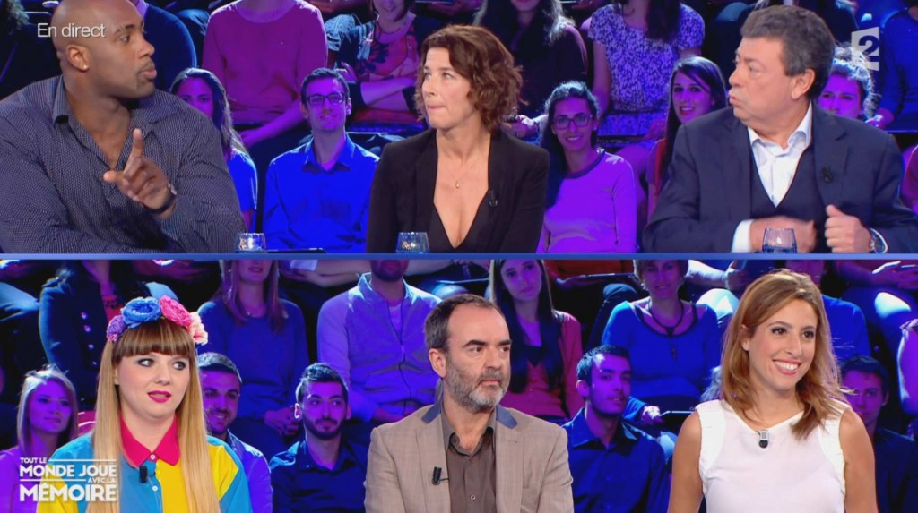 Teddy Riner,  Isabelle Gelinas,C hristian Constant  Luce, Bruno Solo, Christian Constant, Lea Salame
