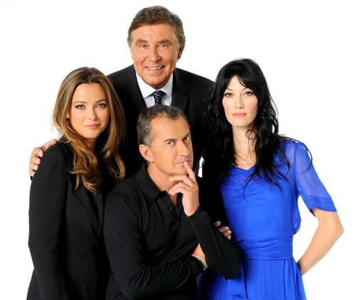 Les Animateurs de la version 2011 de l'émission (Photo DR TF1)