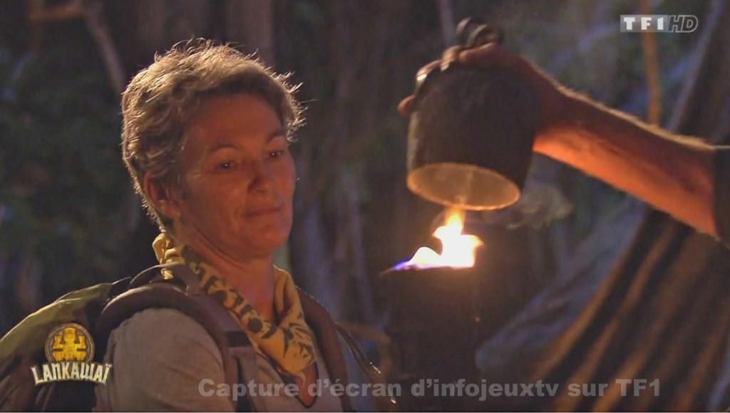 Babette 1ère éliminé de Koh Lanta 2015