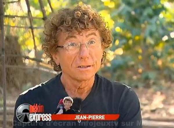 Jean Pierre candidat de Pékin Express