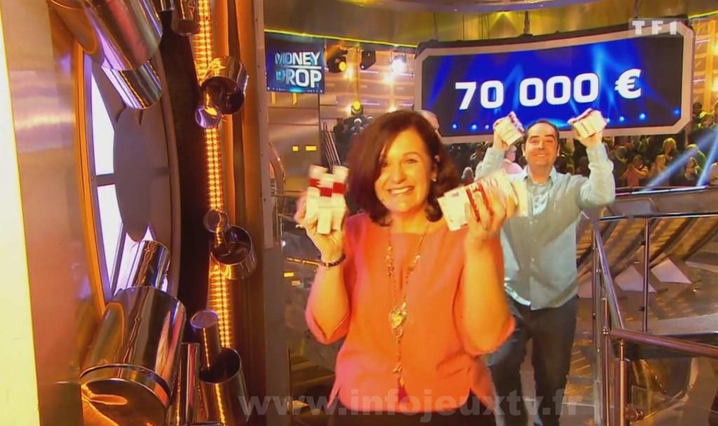 Les premiers gagnants de la nouvelle version de Money Drop