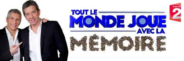 Tout Le monde Joue avec La mémoire Sur France 2 avec Nagui et Michel Cymes