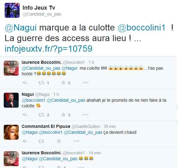 Infojeux Tv adore l'humour de Laurence et Nagui