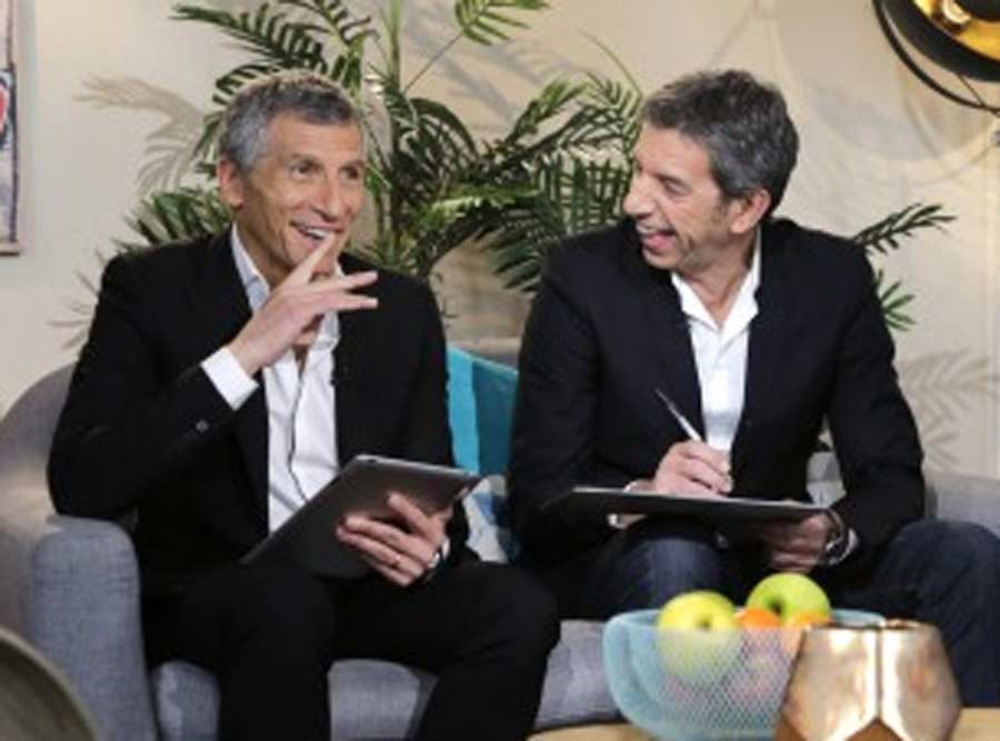 Photo France 2 pour l'émission 'tout le monde joue avec la mémoire'