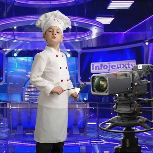 Emission de cuisine Spéciale 7-13 ans